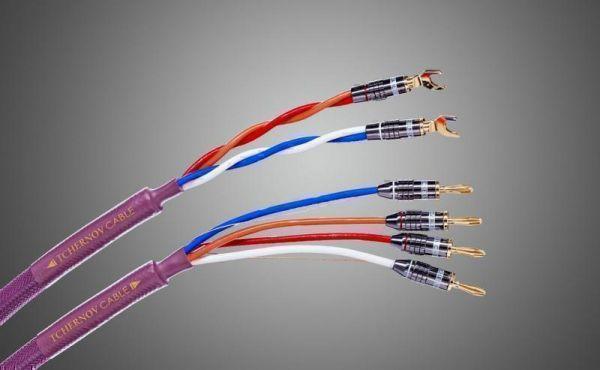 Готовые акустические кабели Tchernov Cable Classic Bi-Wire MkII SC Sp/Bn 3.1 m