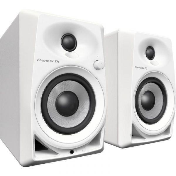 Студийный монитор Pioneer DJ DM-40-W Piano White