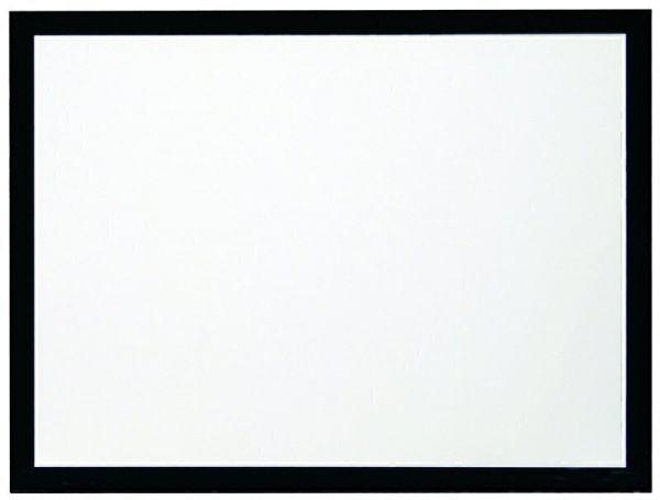 """Kauber Frame Velvet, 181"""" 16:9 White Flex, область просмотра 225x400 см., размер по раме 241x416 см."""