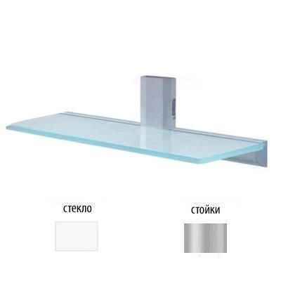 Крепления для аудио/видео аппаратуры Antall INSTALL-09 прозрачное стекло-серебристый