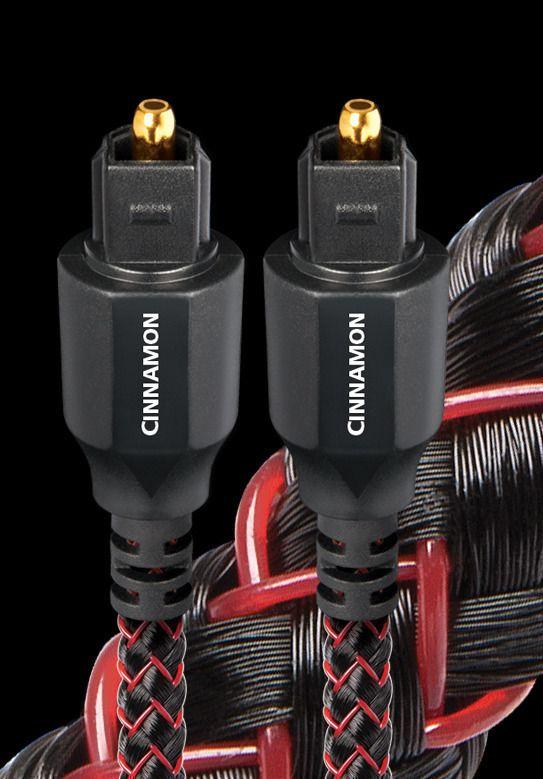 AudioQuest Optical Cinnamon Toslink/Toslink (1.5 м), Оптический кабель Tos - Tos