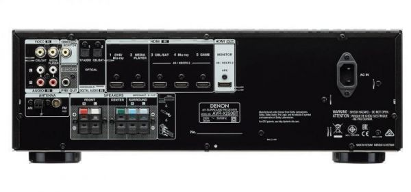 5.1 ресиверы Denon AVR-X250BT black