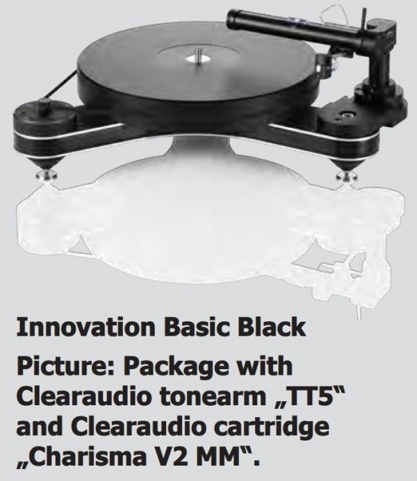 Стол винилового проигрывателя Clearaudio Innovation Basic White