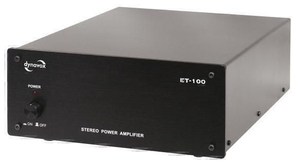 Стерео-усилители Dynavox ET-100 black
