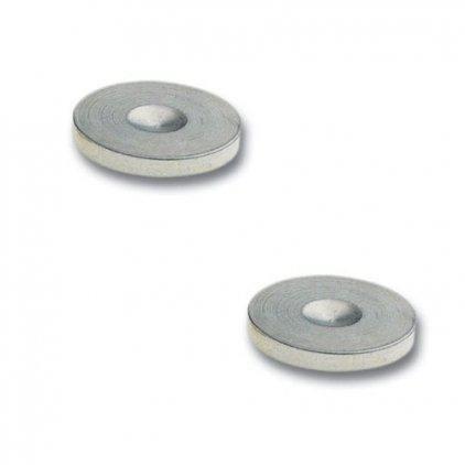 Пятачки под шипы In-Akustik Star Plate mini chrome (008499)