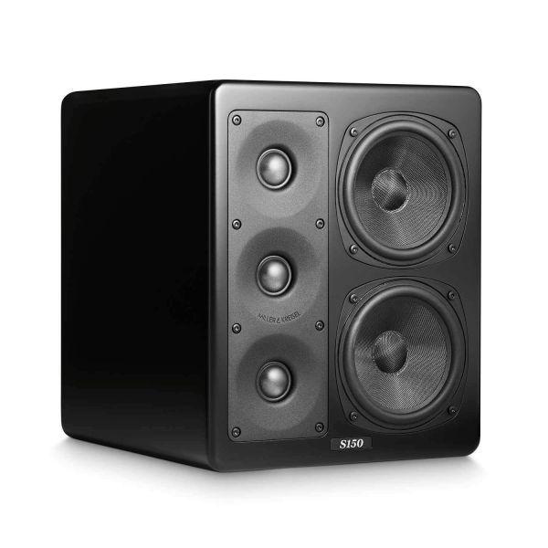 Мониторные акустические системы M&K Sound S150II, Левый, Black Satin/Black Cloth