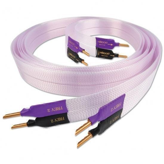 Nordost Frey2 banana 2.5m, Готовый акустический кабель