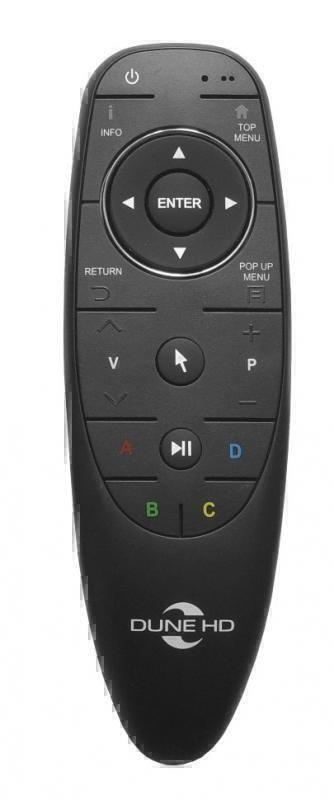 Аксессуары Dune HD Пульт Dune HD (Bluetooth)  черный матовый