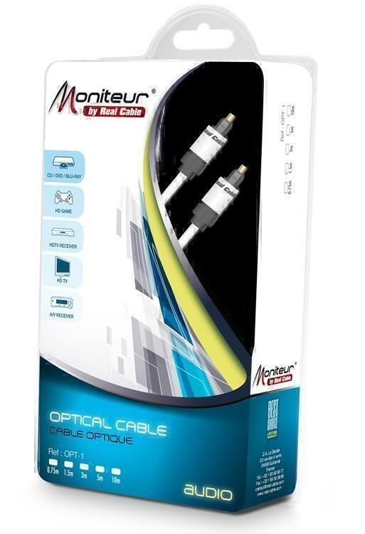 Оптические кабели Tos - Tos Real Cable OPT-1 0.75 m