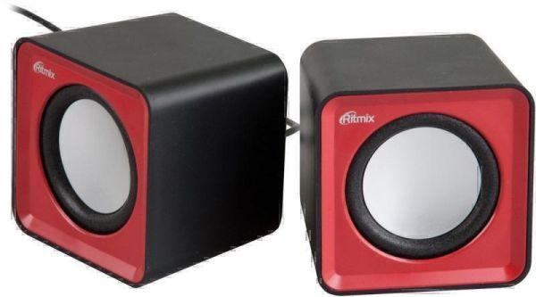 Активная акустика Ritmix SP-2020 Black+Red