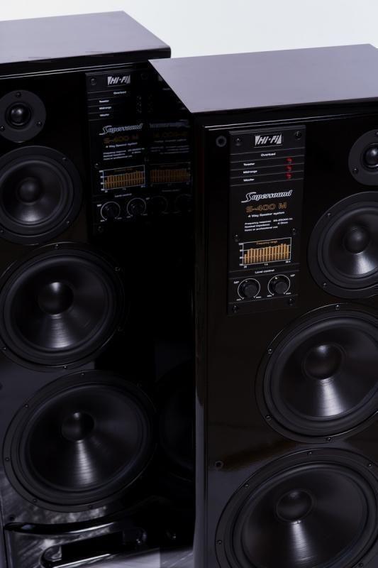 Напольная акустика Radiotehnika S-400 M gloss black lacquer