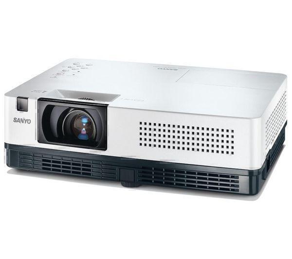LCD проекторы Sanyo PLC-XR201 white