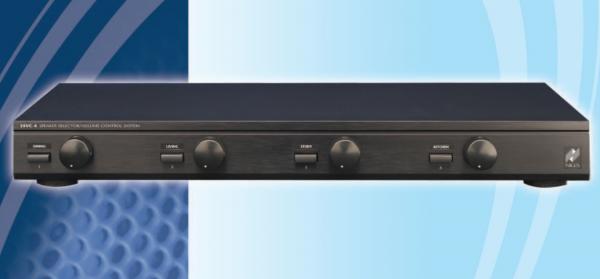 Селектор Niles SSVC-4, #FG01043, Переключатель четырех пар динамиков с регуляторами громкости