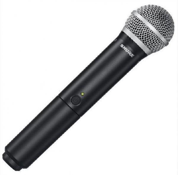 SHURE BLX24E/SM58 M17 662-686 MHz радиосистема вокальная с капсюлем динамического микрофона SM58