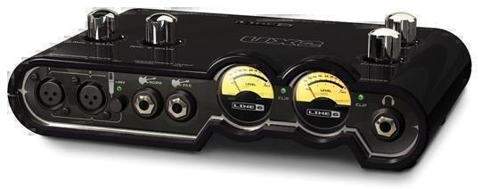 Аудиоинтерфейсы Line 6 TONEPORT UX2 Mk2 AUDIO USB INTERFACE black